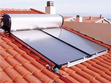 Impianto solare termico - Circolazione naturale